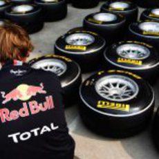 Comprobando los neumáticos Pirelli para el GP de China 2011