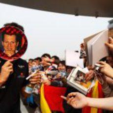¿Schumacher con Red Bull en el GP de China 2011?