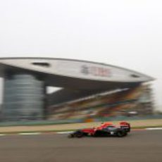 Jerome D'ambrosio rueda en Shanghai
