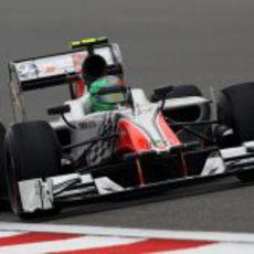 Liuzzi tuvo un difícil comienzo en China 2011