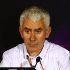 Willis en la rueda de prensa de China 2011