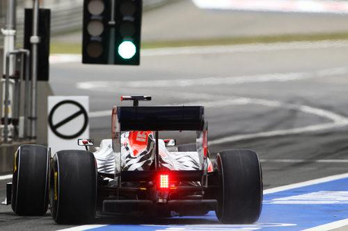 Semáforo en verde para Hispania en el GP de China 2011