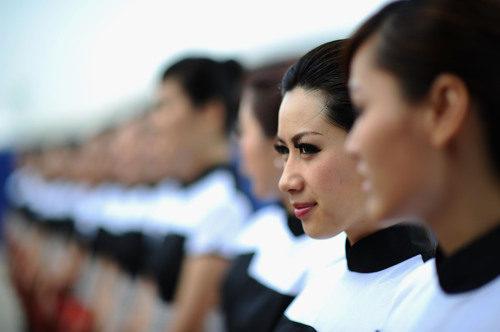 Las 'pitbabes' del GP de China 2011