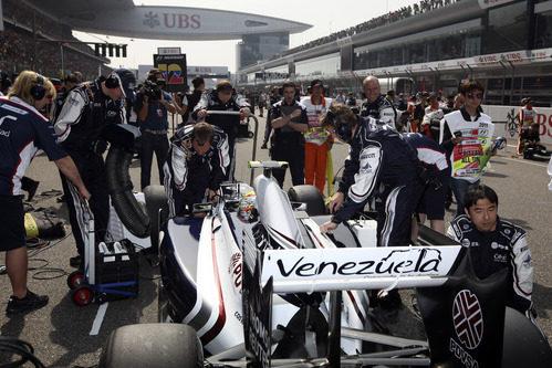 Maldonado espera en la recta principal