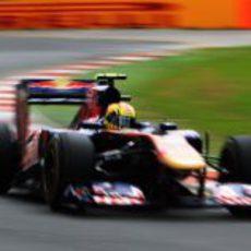Jaime Alguersuari en la clasificación del GP de Australia 2011