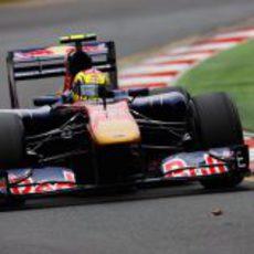 Alguersuari no ha podido entrar en la Q3 del GP de Australia 2011