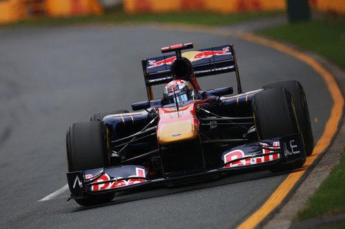 Sébastien Buemi en la clasificación del GP de Australia 2011