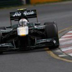 Jarno Trulli en la clasificación del GP de Australia 2011