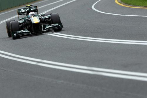 Trulli rueda en la Q1 de Australia
