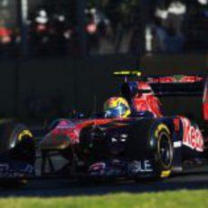 Alguersuari en la carrera de Australia 2011