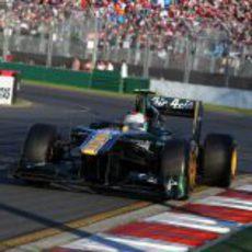 Jarno Trulli en la carrera de Australia 2011