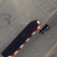 Vista de Trulli desde el helicóptero