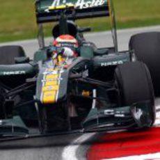 Trulli en los libres del GP de Malasia 2011