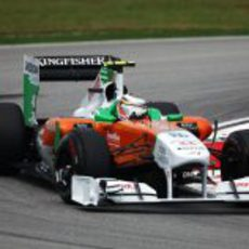 Nico Hülkenberg en los libres del GP de Malasia 2011