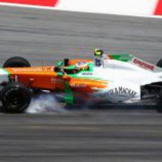 Paul di Resta en los libres del GP de Malasia 2011