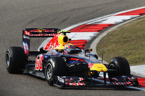Gran remontada de Mark Webber en el GP de China 2011