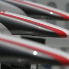 Alerones de Sauber en el GP de China 2011