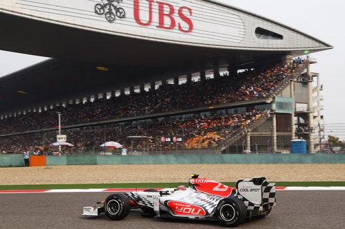 Liuzzi acabó el GP de China 2011