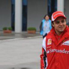 Felipe Massa llega al Istanbul Park