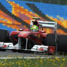 Massa en los entrenamientos del GP de Turquía 2011