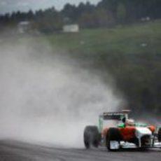 Nico Hülkenberg en los libres del GP de Turquía 2011