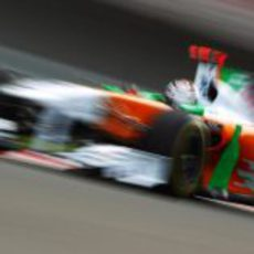 Adrian Sutil en los libres del GP de Turquía 2011