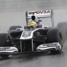 Pastor Maldonado en los libres del GP de Turquía 2011