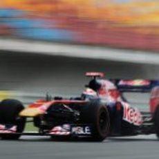 Sebastien Buemi en los libres del GP de Turquía 2011