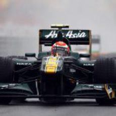 Jarno Trulli durante la FP1 del GP de Turquía 2011