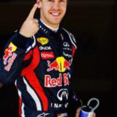 Cuarta 'pole' de 2011 para Vettel en el GP de Turquía 2011