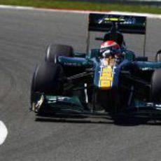Trulli durante la clasificación del GP de Turquía 2011