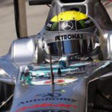 Nico Rosberg en el Gran Premio de Turquía 2011