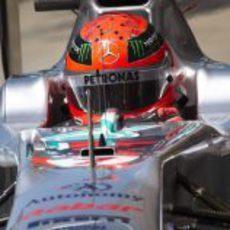 Michael Schumacher en el Gran Premio de Turquía 2011