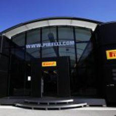 El motorhome de Pirelli en Istanbul Park