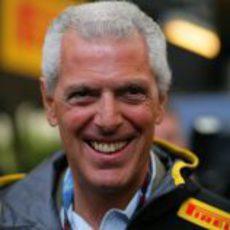 Marco Tronchetti, presidente de Pirelli, en Turquía 2011