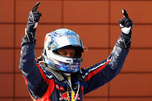 Victoria de Vettel en el GP de Turquía 2011