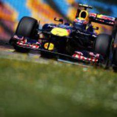 Webber fue segundo en la clasificación del GP de Turquía 2011