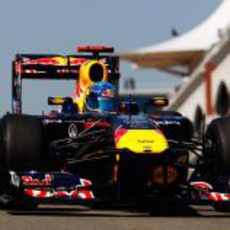 Vettel consiguió una vuelta perfecta el sábado en Turquía 2011