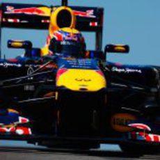 Webber bajo el cielo azul de Turquía 2011