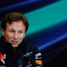 Horner en rueda de prensa en el GP de Turquía