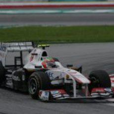 Abandono para Pérez en el GP de Malasia 2011