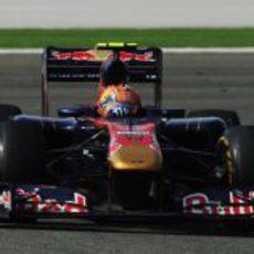 Jaime Alguersuari durante la carrera del GP de Turquía 2011