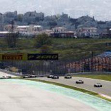 Primera vuelta de la carrera de Turquía 2011
