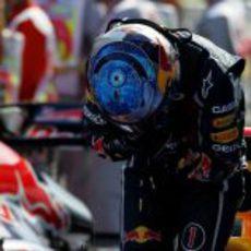 El 'ojo' de Sebastian Vettel en Turquía 2011