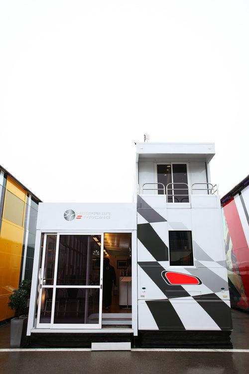 Hispania estrena 'Motorhome' en el GP de Turquía 2011