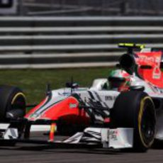 Liuzzi en la clasificación del GP de Turquía 2011