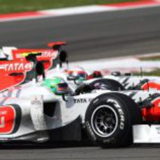 Los pilotos de Hispania en paralelo en Turquía 2011