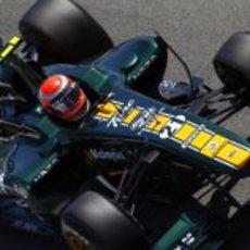 Jarno Trulli durante la FP1 del GP de España 2011