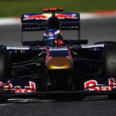 Daniel Ricciardo durante los libres del viernes