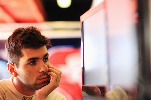 Jaime Alguersuari, concentrado